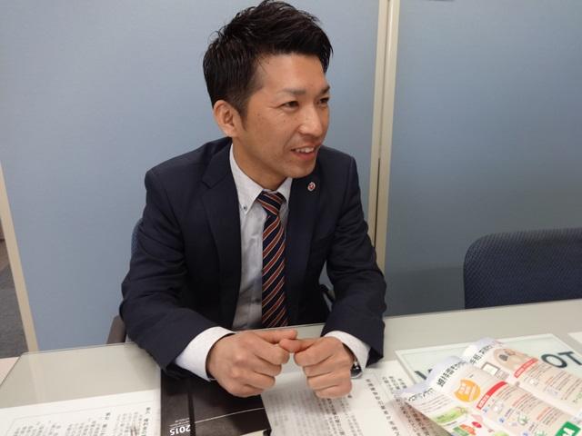 アダチ産業株式会社 カーシェアリングマネージャー 佐々木様